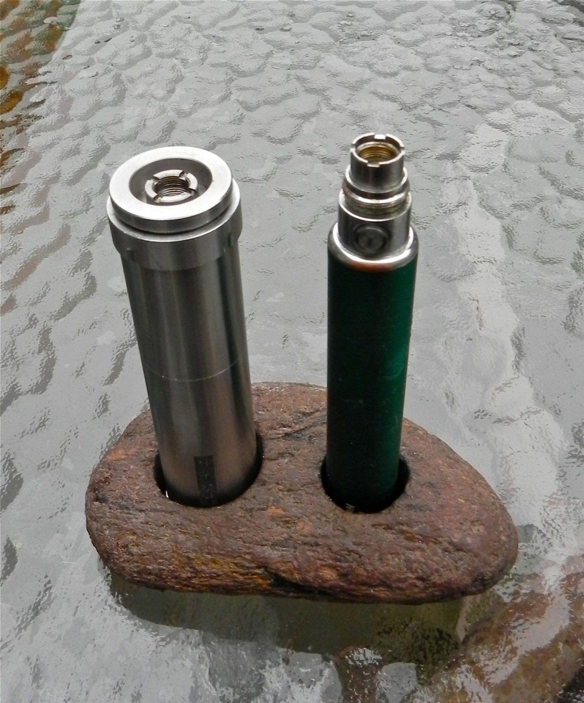 Vape Stand Vape Mod Holder Distinctive Brown River Rock