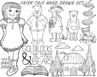 Popular items for goldilocks and on Etsy