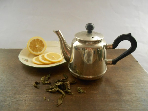 Soviet Vintage Teapot Silver Serving Small