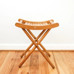 Yugoslavian Folding Chair Simply Bows And Covers- Newcastle Gateshead Camp Stool Wood Camping