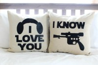 Star Wars I Love You/I Know Pillow Set by AndersAttic on Etsy