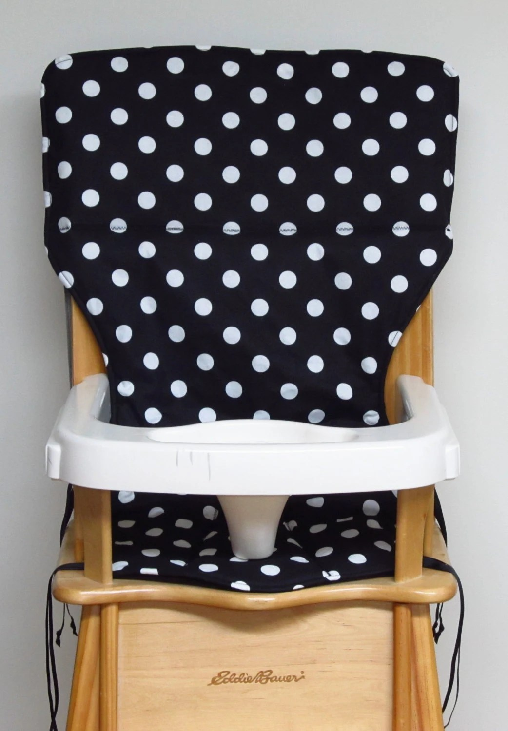 eddie bauer wood high chair pad replacement cover baby
