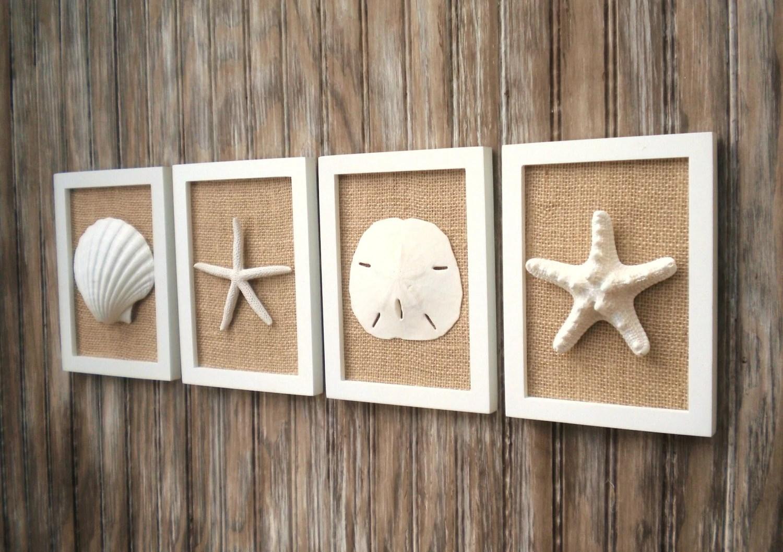 Beach Cottage Chic Wall Art Nautical Decor Beach House Wall