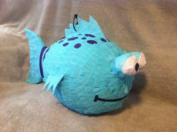 Pout Fish Pinata