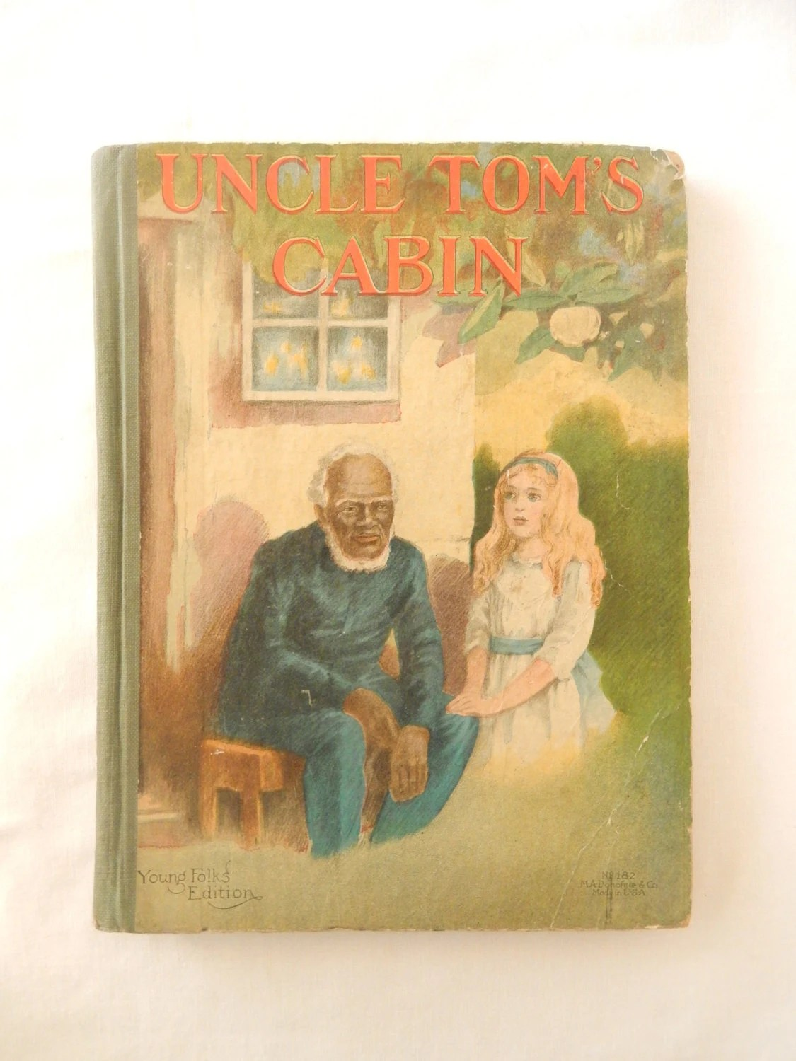 Uncle Tom S Cabin Antique Book C Illustrated By Brixiana