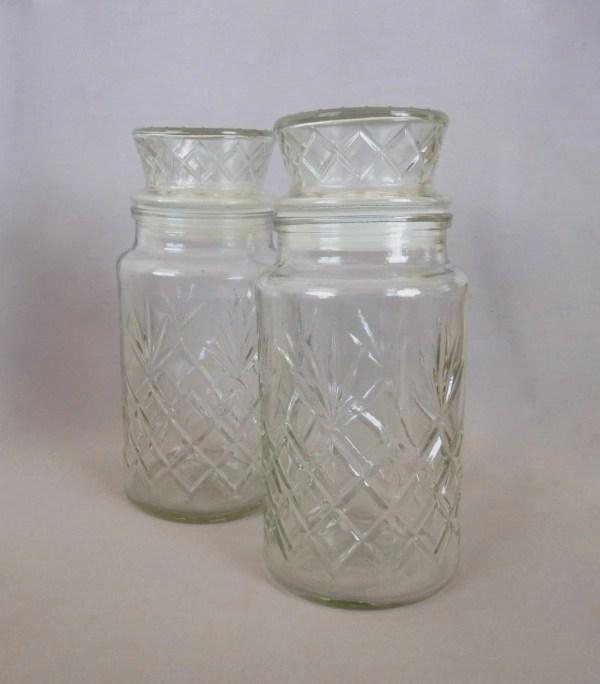 Vintage Planters Peanuts Glass Jar