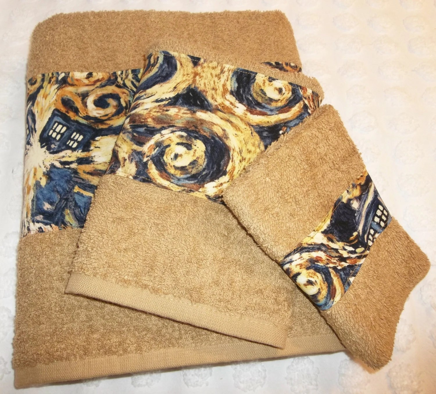 Tardis Bathroom Towels Doctor Who Towels Dr Who Exploding