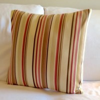 18x18 L.A. Sequence Striped Pillow Cover. by TurtleAndTreadle