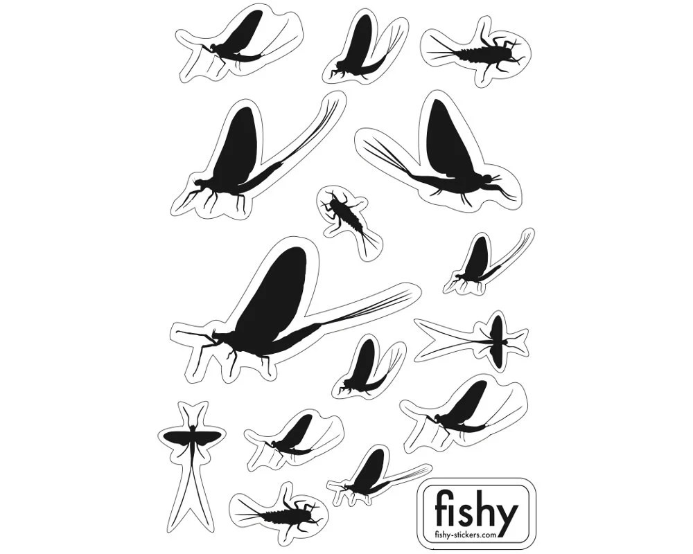 Popular items for fly fishing sticker on Etsy