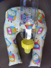Baby bottle holder/ prop by sidneyray0 on Etsy