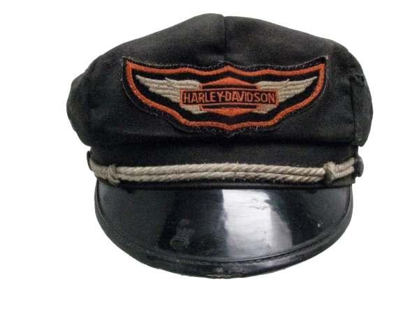 Vintage 1950s Harley Davidson Cap Mens Road