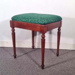 Antique Sewing Chair Office Nz Vintage Footstool Stool Accent Lift Off Seat