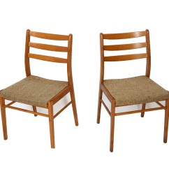 Danish Modern Dining Chair Pool Cushions 4 Chairs 70s By Hearthsidehome On Etsy