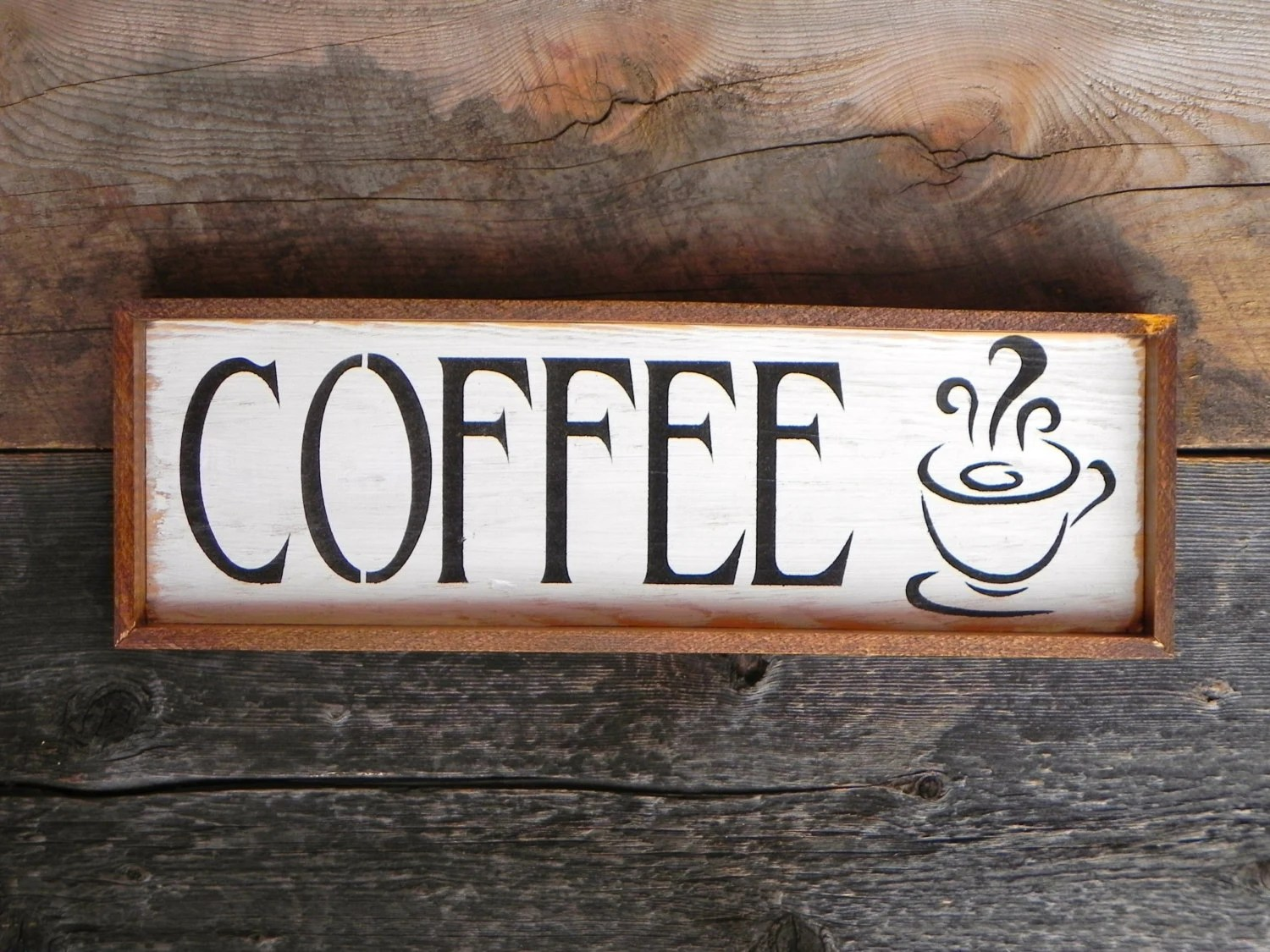 wooden signs for kitchen wall splash guard cafe sign and home decor diner restaurant