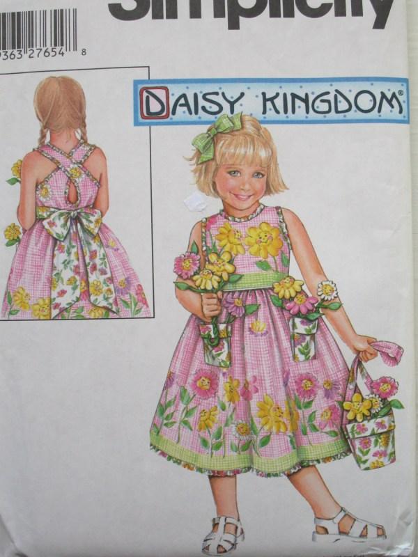 Girls Easter Dress Pattern Daisy Kingdom