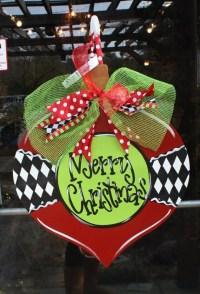 Items similar to Christmas Ornament, Christmas Wreath ...