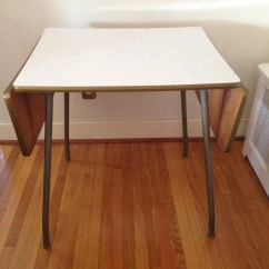 Drop Leaf White Kitchen Table Apartment Size Fab Formica  Haute Juice