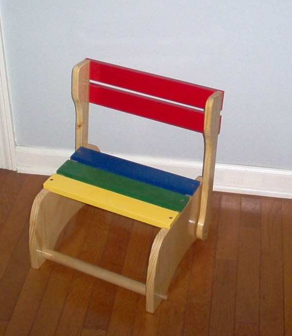 Child's Wooden Chair/Step Stool/child's gift