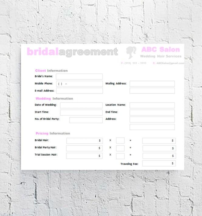 Wedding Makeup Questionnaire Jettune Co
