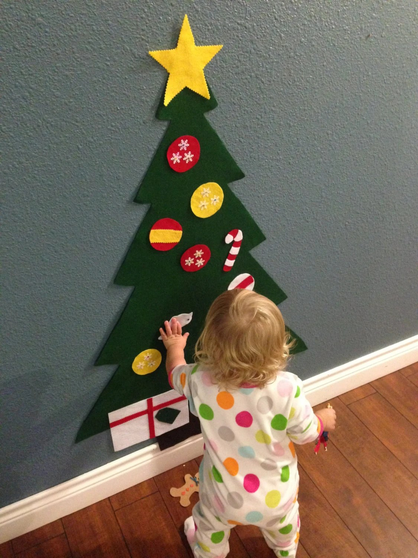 Felt Christmas Tree Holiday T For Toddlers Kids Felt