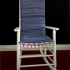 Polka Dot Rocking Chair Cushions Herman Miller Rolling On Sale Cushion Cover Navy Stripe Pink