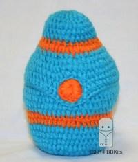 Items similar to Handmade Crocheted Baby Bottle Cozy on Etsy