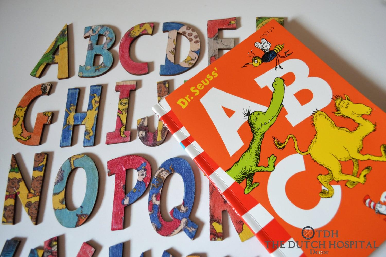 Dr Seuss S Abc Book Alphabet Letters Dr Seuss S A By
