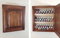 Items similar to Wood Essential Oils Cabinet- Amish built ...
