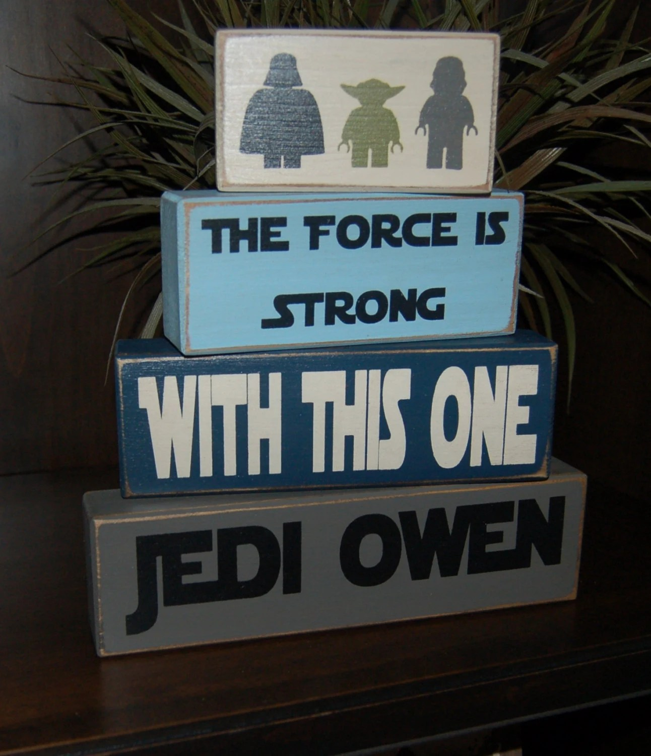 Items Similar To Custom Personalized Star Wars Wooden Toy Box With Darth Vader And Light Sabers