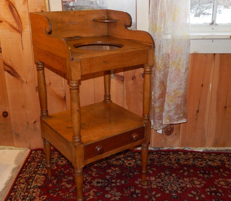 Antique Wash Basin Table Stand Wash Board Table By