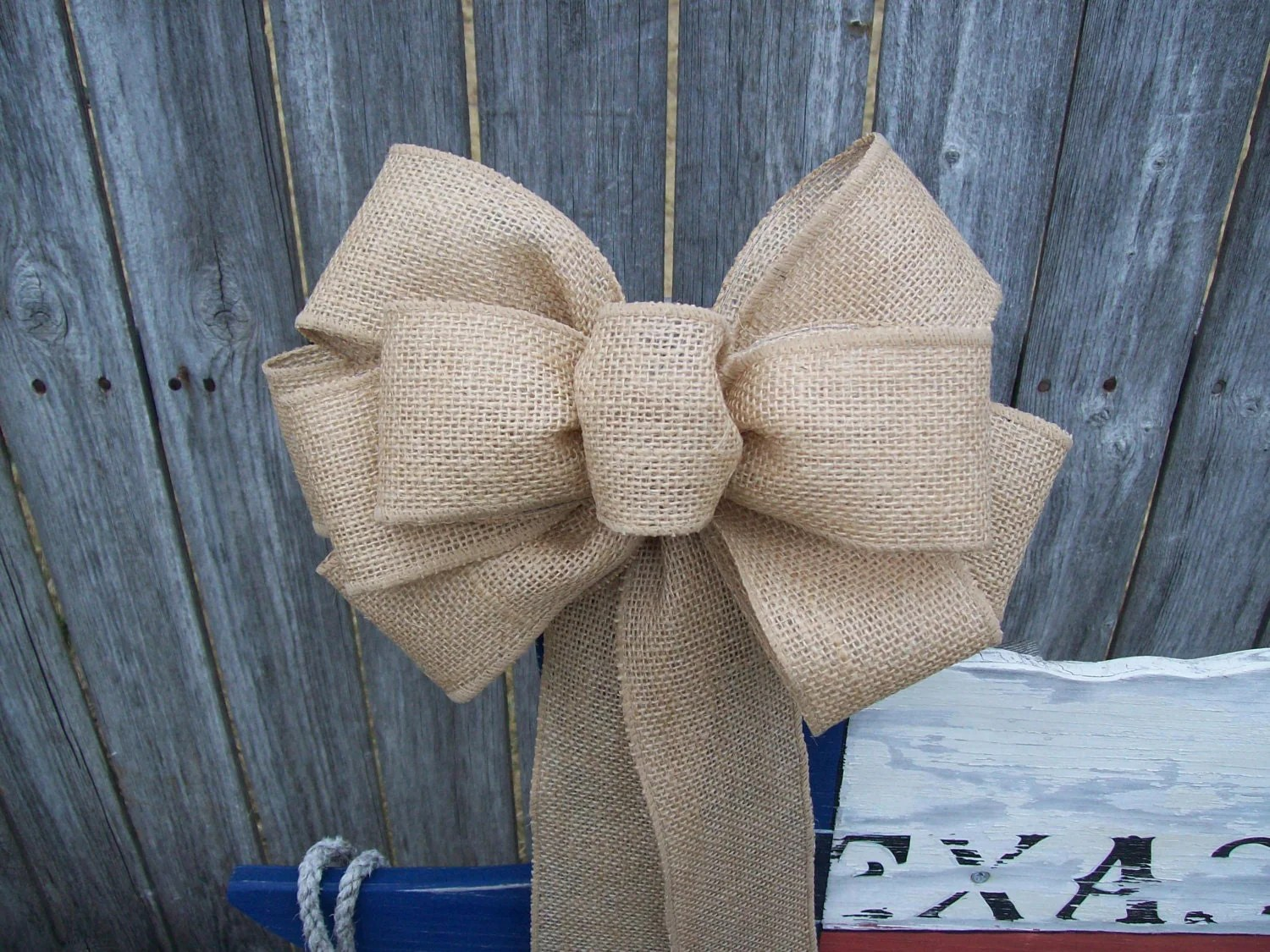 burlap bows for wedding chairs world market anna chair pew bow aisle decoration rustic