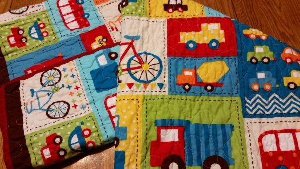 Car Quilt Boy Crib Bedding Boy Nursery Transportation