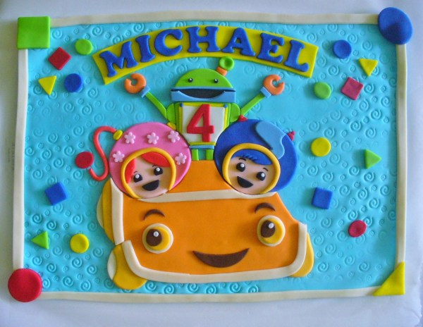 Team Umizoomi Personalized Cake Ideas And Design