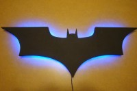 Batman Logo LED Wall Light / Night Light