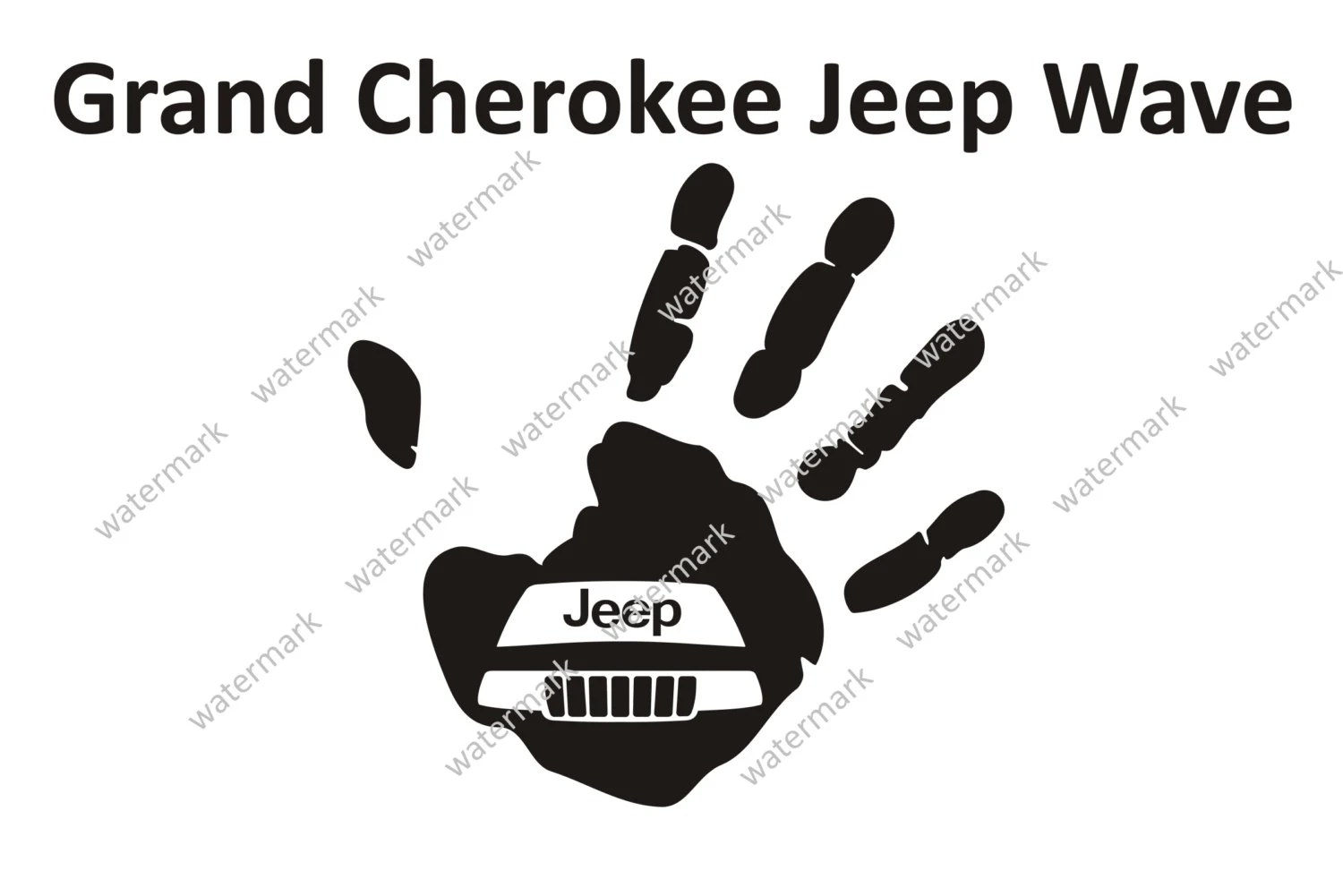 Decals for jeep grand cherokee