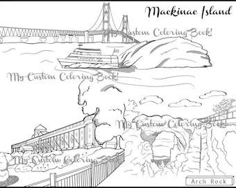 Download Brooklyn Bridge Coloring Page