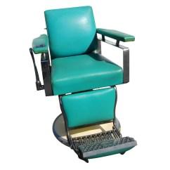 Koken Barber Chair Serta Office Parts 1950s Mohawk Rare Color  Haute Juice