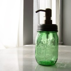 Kitchen Dish Soap Dispenser Table Placemats Lime Green Mason Jar Or Lotion A Modern Ball