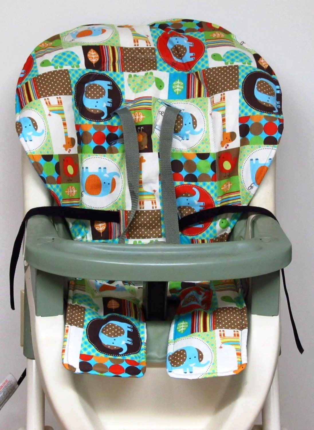 High Chair Covers High Chair Cover Graco Pad Replacement Patchwork Pals
