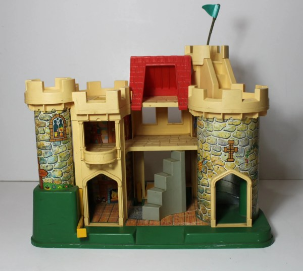 Vintage Fisher Play Family Little People Castle