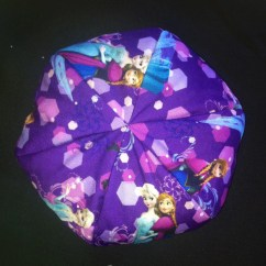 Princess Bean Bag Chair Rocking Frozen American Girl Doll Elsa Anna Purple