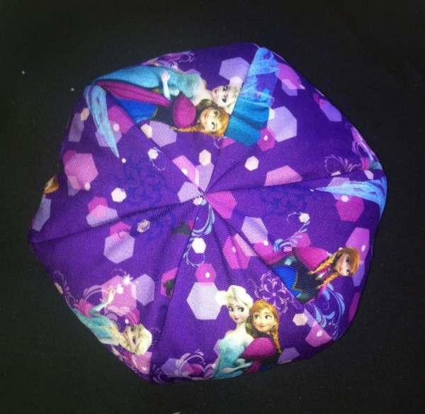 Frozen American Girl Doll Bean Bag Chair Elsa Anna Purple