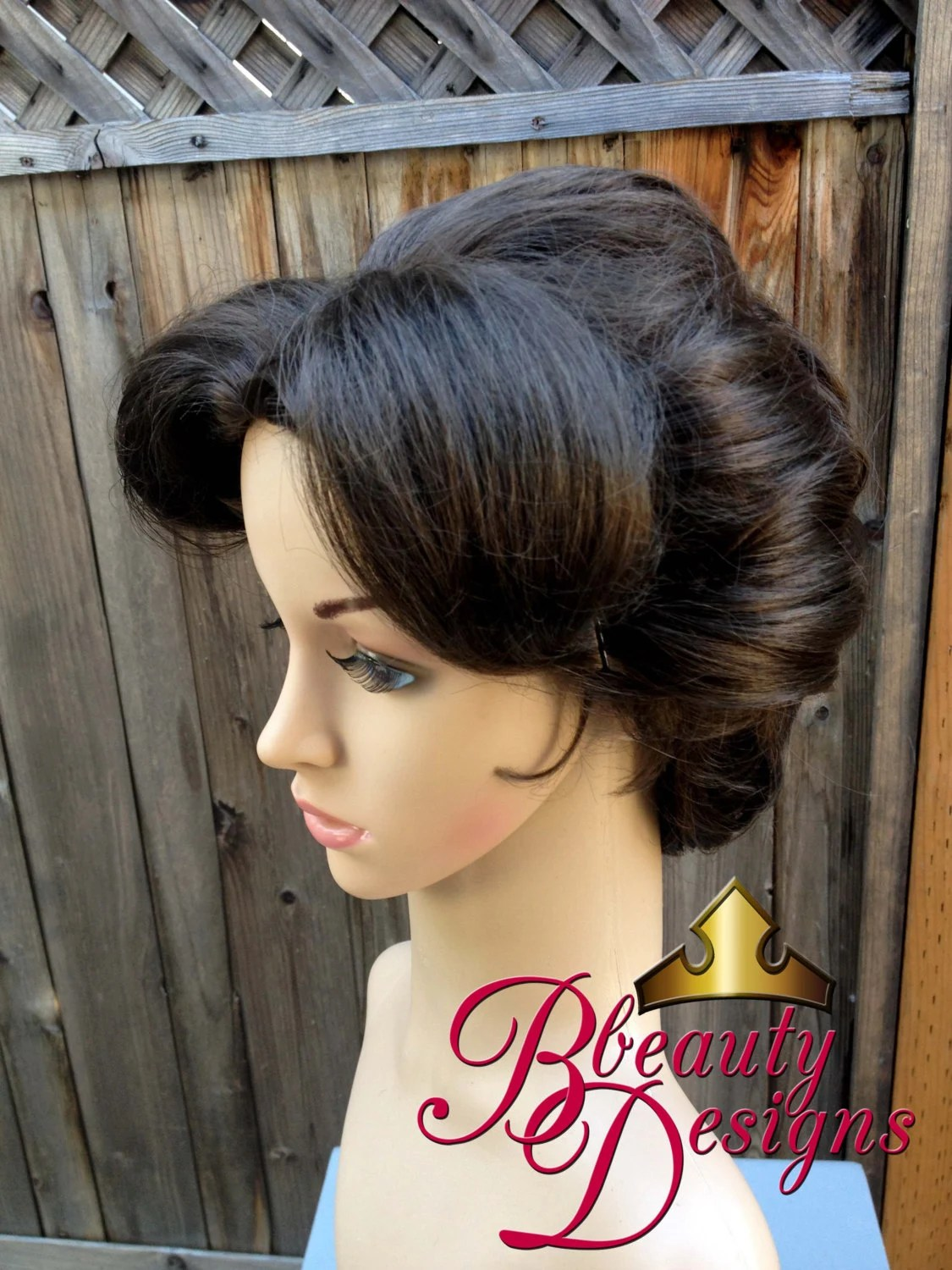 Mary Poppins Nanny Inspired Wig Screen Quality by
