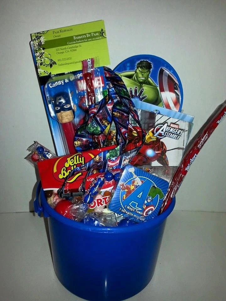 Marvel Captain America Avengers T Basket
