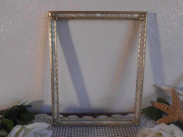 Vintage Gold Metal Frame 8 X 10 Decoration