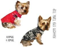 Dog Tank Top Pattern 1719 XXSmall & XSmall Dog Clothes