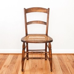 Cane Back Chairs Antique Comfortable Wicker Chair Caned Wood
