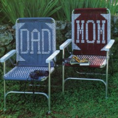Macrame Lawn Chair Reupholster Leather Seat Chairs Pattern Book 13 Designs Easy By