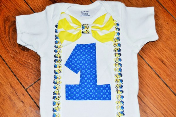 2nd Birthday Minion Shirt