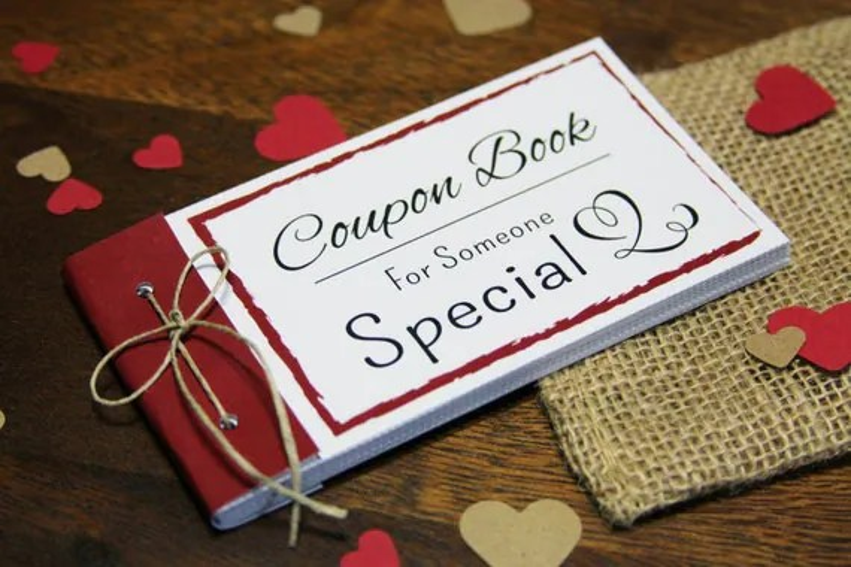 Coupon Book Printable Gift Idea Instant Download DIY PDF